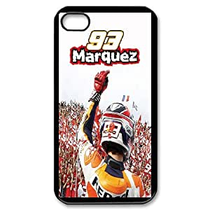 Marc Marquez Phone Case And One Free Tempered-Glass Screen Protector For iPhone 4,4S T237875