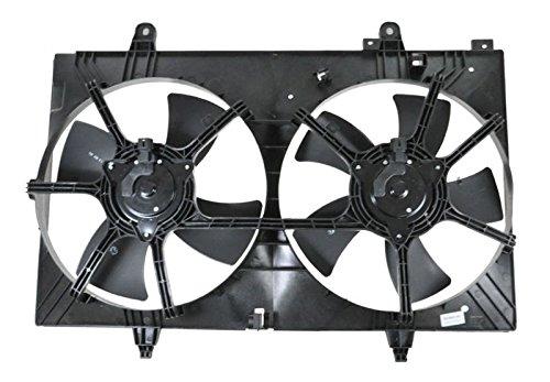 Radiator Cooling Fan Condenser Fan For 03-07 Nissan Murano