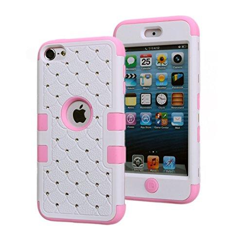apple-ipod-touch-6-case-asstar-spot-diamond-studded-bling-crystal-rhinestone-3-layers-verge-hybrid-s