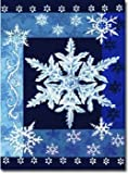 Cool Snowflakes – 28″ x 40″ Toland Art Banner