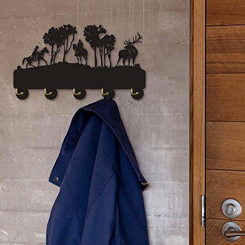 Forest Wildlife Deer Decorative Wall Hooks Key Hanger Key Hooks Rack Personalised Towel Hooks Robe Hook Wall Hooks Coat Hanger