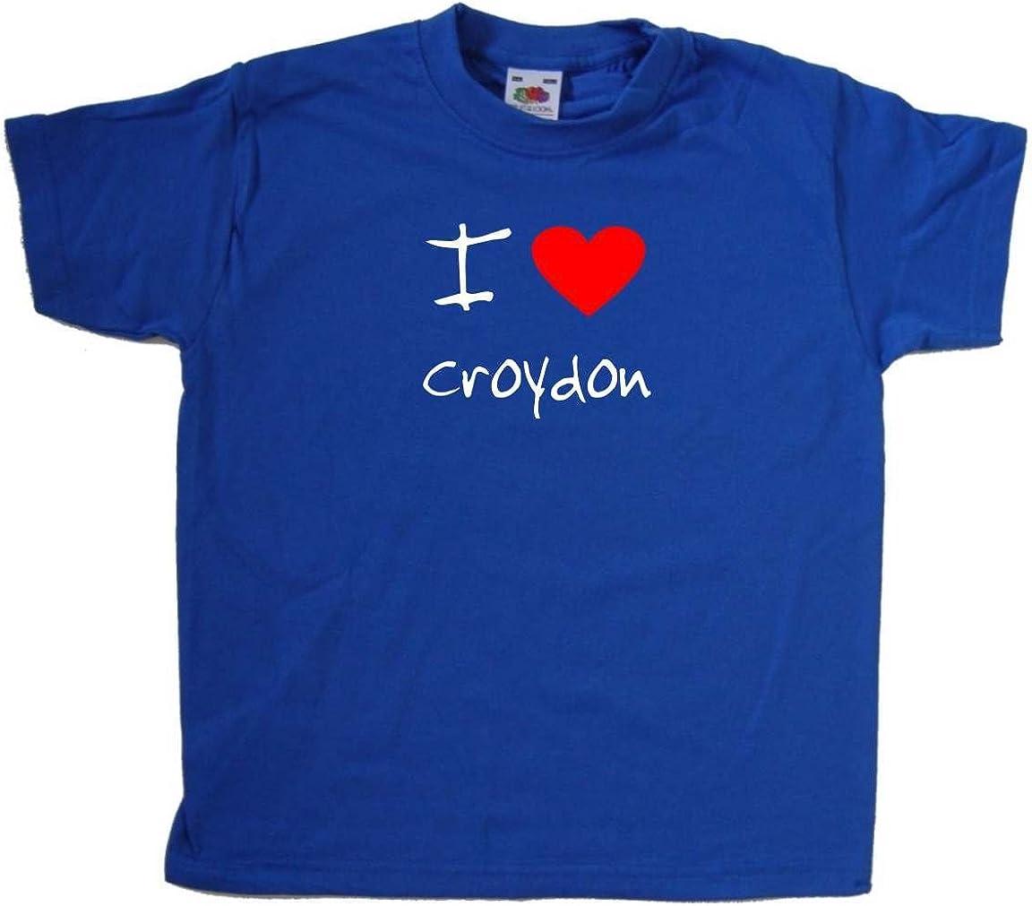 I Love Heart Croydon Kids T-Shirt