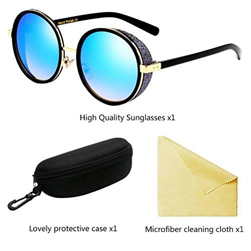 Protection Unisexe Lunettes Zhhlinyuan de UV Blue De PC Lunettes pour Métal Hommes Soleil et Femmes Lunettes Mode Soleil 5UOwOrXq