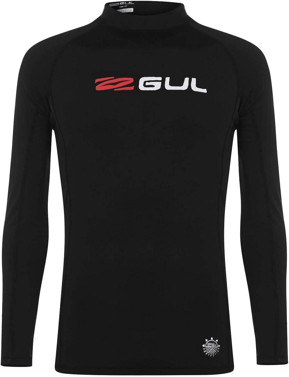 Gul Boys Long Sleeve Rash Vest Crew Neck Lightweight Swimming Beach Pool Top