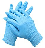 HDX 2910/100 Latex-Free, Disposable, One-Size-Fits-All Nitrile Cleaning Gloves (100 Count)