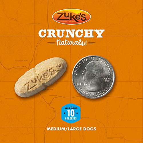 Zuke'S Crunchy Naturals 10S Baked With Pumpkin & Sweet Potato Dog Treats - 12 Oz. Pouch