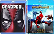 Marvel Cinematic Universe 2-DVD Bundle - Spider-Man: Homecoming and Deadpool (DVD + Digital HD) Double Super Hero Feature