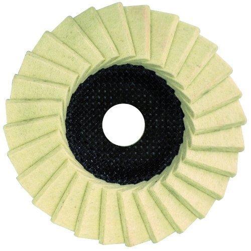 Dronco Disque de polissage en feutre pour meuleuse d'angle