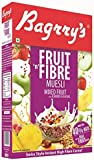 Bagrry's Fruit n Fibre Mixed Fruit with Almond and Raision Oats, Wheat Muesli Cereal, 500g