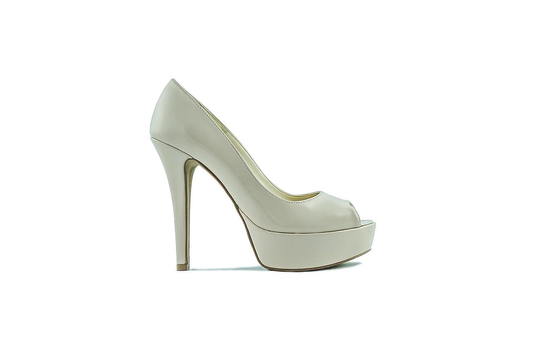 Joyce Milano Mujer Is74v Zapatos de Plataforma 38 EU Beige