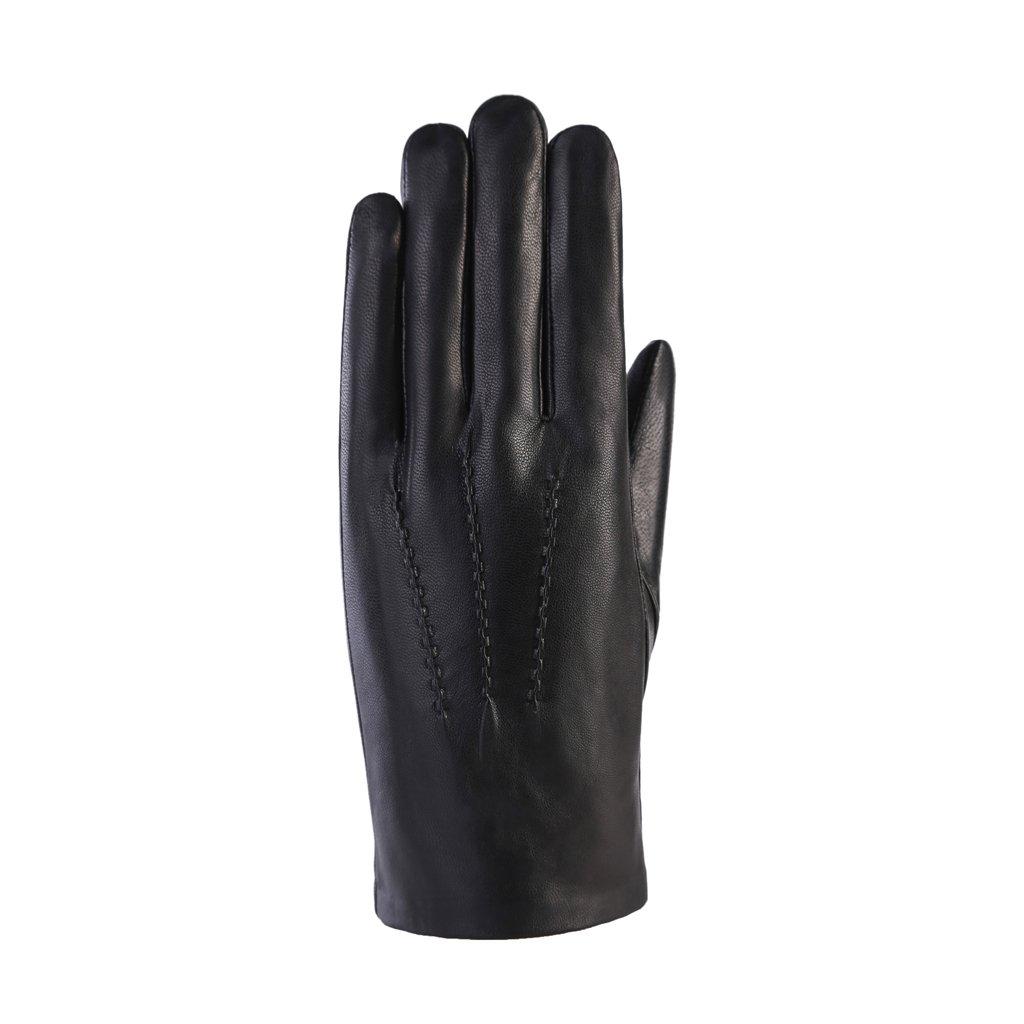 MoDA Men's Mr. Omaha Genuine Leather Winter Gloves C0166-BK-S