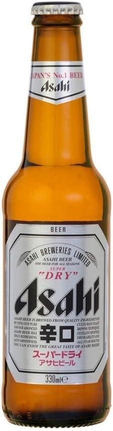 Asahi Super Dry Beer 4 x 330 ml (Pack de 6 x 4x33cl): Amazon.es: Alimentación y bebidas