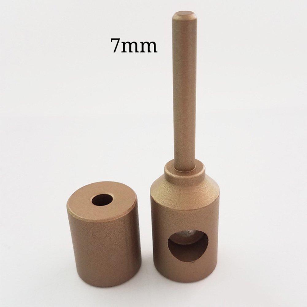 ZLUCK Water Pipe Repair Tools, Leak - Mending, Hole - Mending, Fuser, Welding Die, Glue Stick Repair Tools, PE/PPR / Pb/PVC Small-Scale Welding Pipe Repair Work (7 Mm - 11 Mm),A by ZLUCK (Image #2)