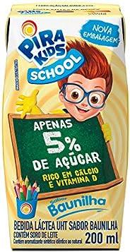 Bebida Láctea Sabor Baunilha Pirakids School 200ml