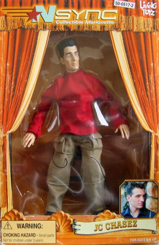 'NSync Collectible Marionette - JC Chasez Image