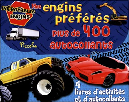Livres gratuits en ligne Valisette activités 400 autocollants/incroyables engins pdf, epub ebook