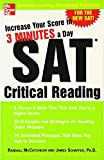 img - for Increase Your Score in 3 Minutes a Day: SAT Critical Reading book / textbook / text book