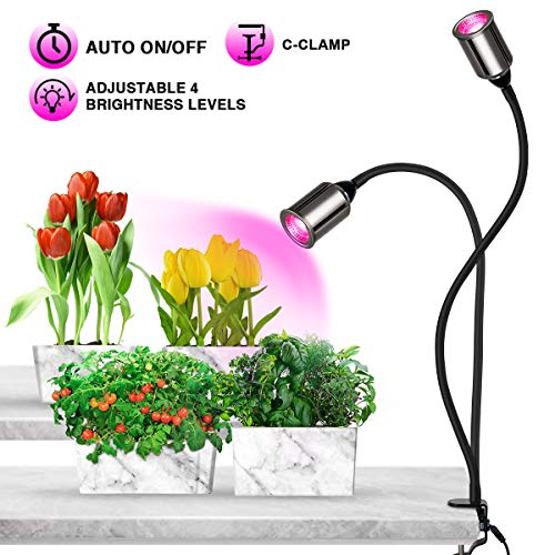 - Grow Light, Bozily LED Grow Lights for Indoor Plants,Full Spectrum Grow Lamp Plant Light for Seedling Growing Blooming Fruiting (75W Growing Lamps)