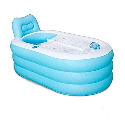 Bañera hinchable plegable de plástico para adultos, para el ...