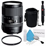 Tamron 16-300mm f/3.5-6.3 Di II VC PZD MACRO Lens + UV Filter + Deluxe Lens Pouch + Lens Pen Cleaner + Deluxe Cleaning Kit Saver Bundle - International Version (No Warranty)