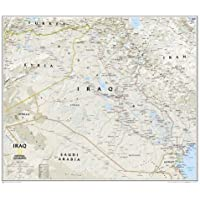 Iraq Classic, Tubed: Wall Maps Countries & Regions (National Geographic Reference Map)