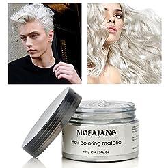 MOFAJANG Hair Color Wax Temporary Hairst...