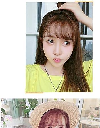 Amazon Com Korean Air Light Brown Hair Dark Brown Natural Hair