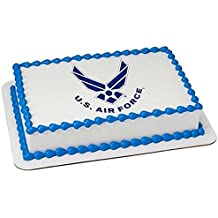 Airforce cupcake toppers for Air force cakes decoration