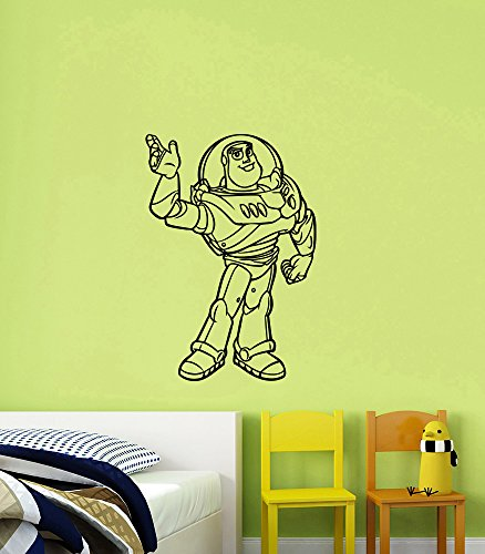 Cheap Buzz Lightyear (Buzz Lightyear Wall Decal Vinyl Sticker Toy Story Art Movie Decorations for Home Kids Boys Room Nursery Bedroom Decor tsto2)