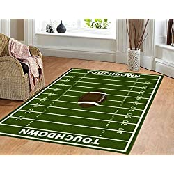 Dalyn Rug All Stars Football Ground Kids Rug