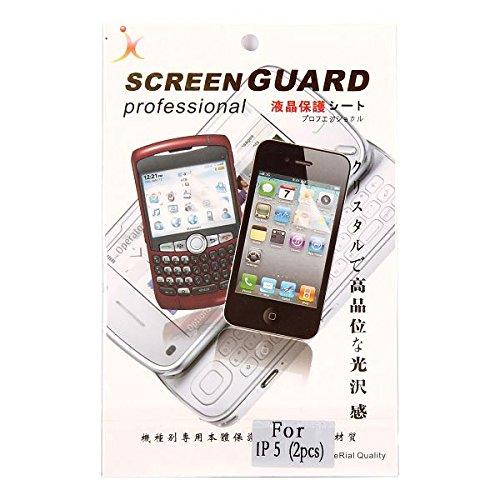 Pellicola Proteggi Schermo Trasparente iPhone 5, 5S deebix