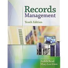 Bundle: Records Management, 10th + MindTap Office Management,1 term (6 months) Printed Access Card + Records Management Simulation