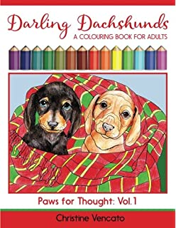 Amazon Art Of Dachshund Coloring Book Coloring Book For Dog