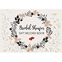 Bridal Shower Gift Record Book: Gift Log & Guest Book