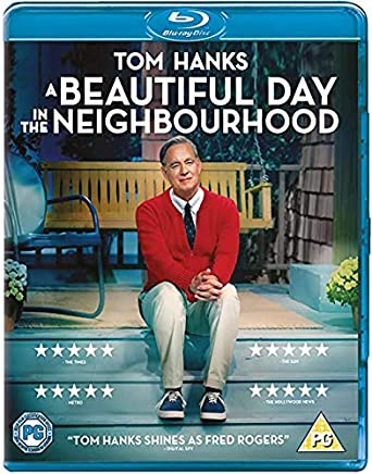 Amazon Com A Beautiful Day In The Neighborhood Blu Ray Tom Hanks Matthew Rhys Susan Watson Chris Cooper Christine Lahti Marielle Heller Movies Tv