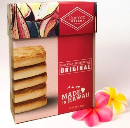Hawaiian Shortbread Cookies, Original 4.4 ounce (125g) ()