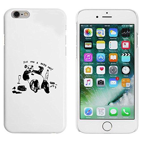 Blanc 'Panda Fatigué' étui / housse pour iPhone 6 & 6s (MC00051542)