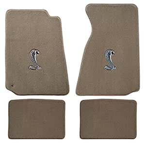 94 04 ford mustang parchment carpet floor mats for 04 cobra floor mats