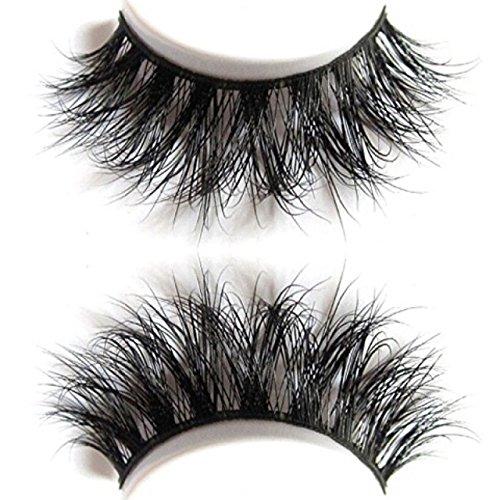 3b4d0e277d8 Plushe 3D mink 100% Siberian Mink Fur Hand-made|Makeup false Strip Lashes