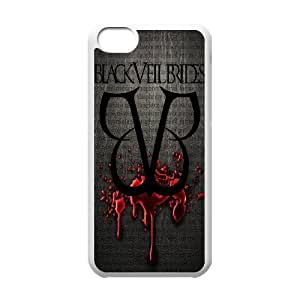 Custom High Quality WUCHAOGUI Phone case BVB - Black Veil Brides Music Band Protective Case For Iphone 5c - Case-6