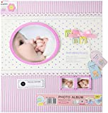 Baby Photo Frame - Infant Newborn Little Princess Girl Baby's First Photo Pink Picture Special Moments Frame - 10.5 x 8.5 x 2 inches