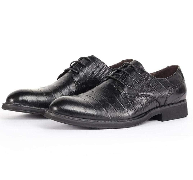 WLFHM Herrenschuhe Einzelne Schuhe Schnürsenkel Herren