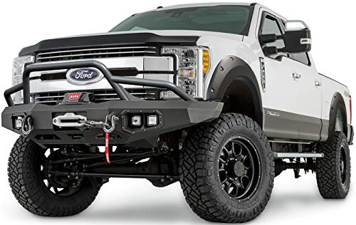 WARN 102021 4X Fender Flare Set - Fits: 2017-18 Ford F250, All Bed Sizes