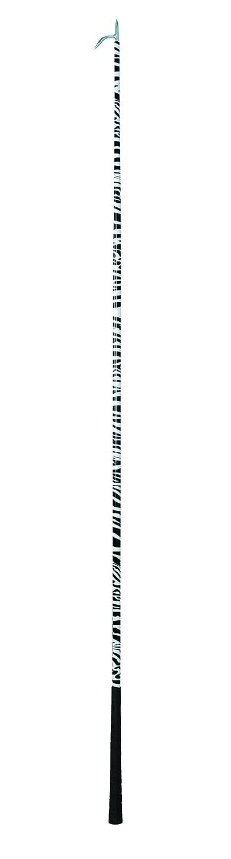 Weaver Leather Livestock 65-5176 Specialty Cattle Show Stick, 60  Shaft, Black White Zebra