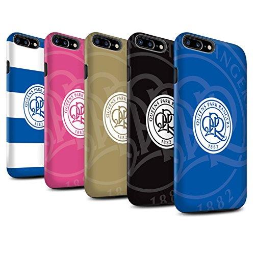 Offiziell Queens Park Rangers FC Hülle / Matte Harten Stoßfest Case für Apple iPhone 7 Plus / Pack 11pcs Muster / QPR Fußball Crest Kollektion