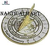 NauticalMart 1st Wedding & Anniversary Sundial Gift