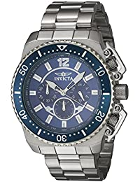 Men's 'Pro Diver' Quartz Stainless Steel Casual Watch, Color:Silver-Toned (Model: 21953)