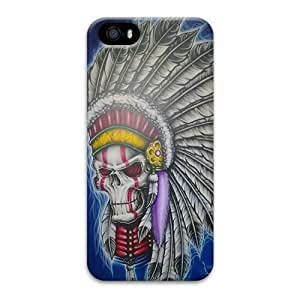 Case For Sam Sung Galaxy S4 I9500 Cover Case, NEW Indian Style Skull 3D Design Phone Case For Sam Sung Galaxy S4 I9500 Cover Wholesale