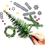 2018 Christmas Tree Metal Die Cutting Dies Handmade Stencils Template Embossing for Card Scrapbooking Craft Paper Decor By E-SCENERY (F)