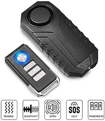 Kawosh Sistema de Alarma de Motocicleta 113dB Sistema de Alarma ...